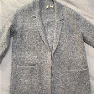 Anthropologie 'Moth' oversized wool-like blazer